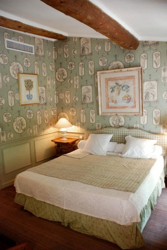 Room in the Bastide du Cours, Aix en Provence