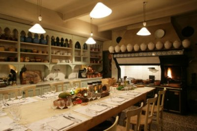 The old kitchen, La Mirande hotel, Avignon