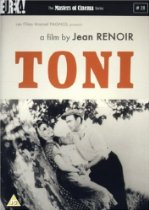 DVD cover of Toni