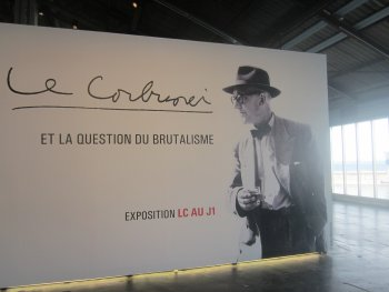 Le Corbusier at the J1 Terminal Marseille