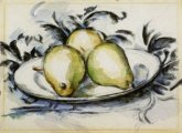 Three Pears by Paul Cezanne small