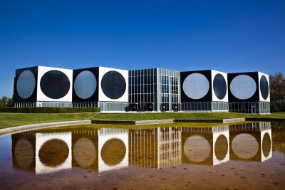 The Vasarely Foundation Aix en Provence