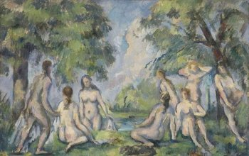 Les Baigneuses, Paul Cezanne, Musee Granet, Aix