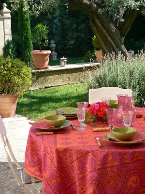 Indienne tablecloth by Olivades