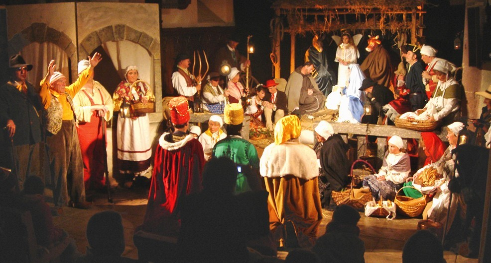 A pastorale, or nativity play in Provence