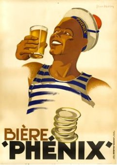 Poster for Biere Phenix from Marseille