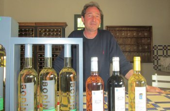 Nicolas Bontoux and his Bodin wines, Cassis