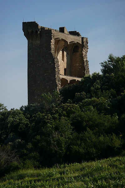The ruins at Chateauneuf-du-Pape