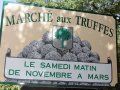 truffle market sign richerenches