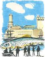 The sardine that blocked the port of Marseille