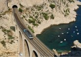 BlueCoastTrainfromabove small