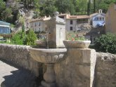 Moustiers Sainte Marie fountain