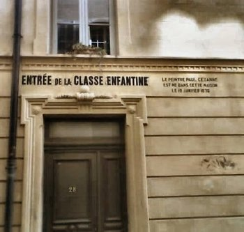 Cezanne's place of birth