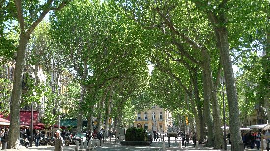 Good The Cours Mirabeau, Aix En Provence