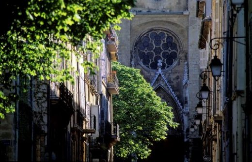 Saint Jean de Malte in the Mazarin Quarter of Aix en Provence