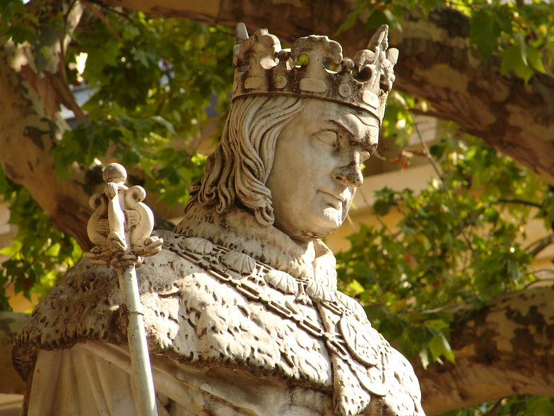 Statue of King Rene, Aix en Provence