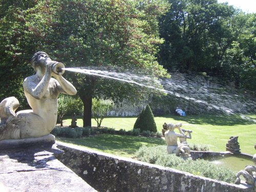 Merman Fountain, Jardins d'Albertas