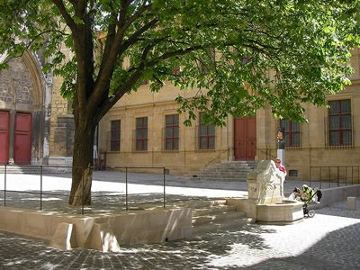 The Musee Granet, Aix en Provence