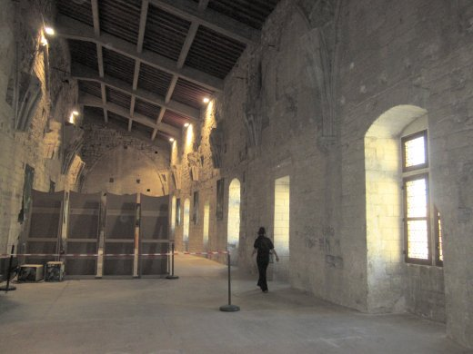 The Avignon Popes' private quarters