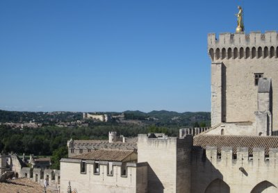 View from the roof of the Palais des Papes, Avignon