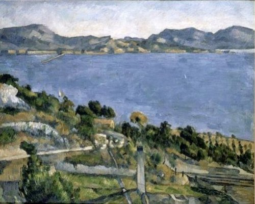 The Gulf of Marseille, seen from l'Estaque, Paul Cézanne