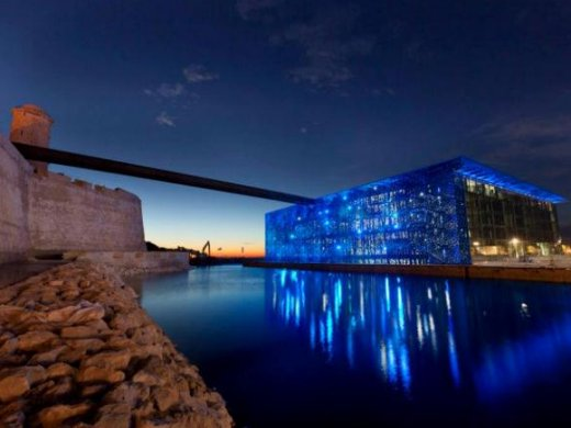 The Fort Saint Jean and the MuCEM in Marseille
