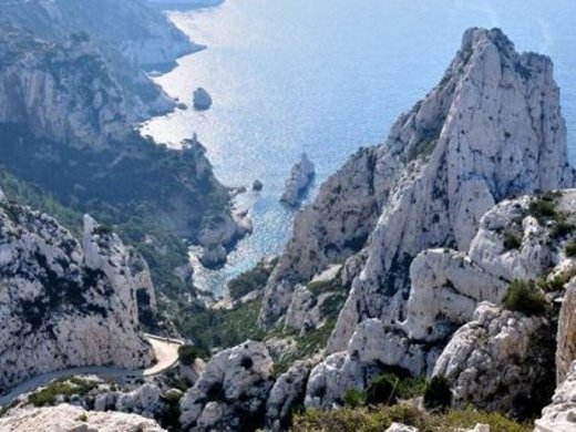 The Calanque de Sugiton near Marseille