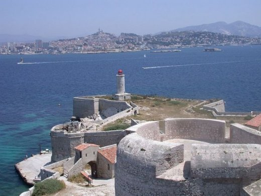 The Château d'If, the setting for The Count of Monte Cristo