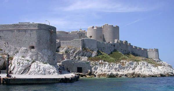 The Chateau d'If, Marseille
