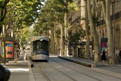 A new tram in Marseille