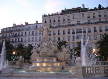 Toulon place de la liberty