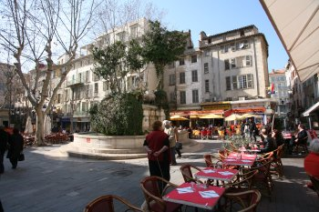 place Pierre Puget Toulon
