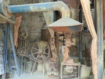 Ochre processing machinery Roussillon