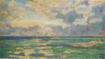 Daybreak at Cassis by Winston Churchill