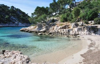 Calanque of Port Pin, near Cassis