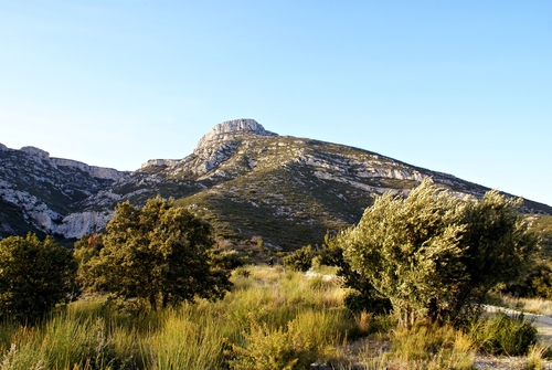 The Garlaban mountain, Aubagne
