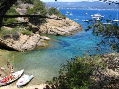 Seynerolles beach on Ile Verte La Ciotat