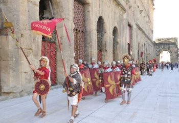romans in orange