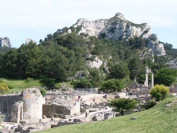 The Roman city of Glanum, Saint Remy de Provence