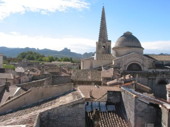 The roofs of Saint Remy de Provence