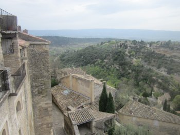 View from Gordes across the valley