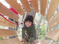 Treetop adventure playground, Marseille