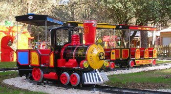 Petit train, Village des Automates, Saint Cannat near Aix en Provence