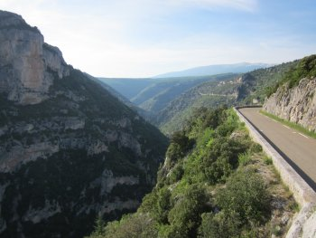 gorges de la nesque road