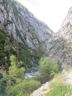 River bed Gorges du Verdon