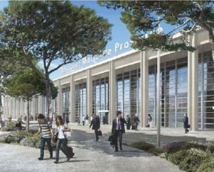 marseille provence airport renovation