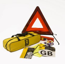 AA travel kit for drivers in France
