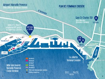 marseille cruise port map small