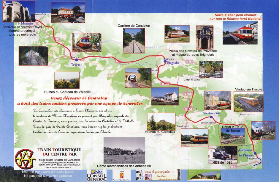 Tourist Train of Central Var - Travel and Tourism in Provence